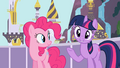 Pinkie Pie and Twilight happy S2E9.png