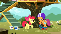 Scootaloo returns S01E18