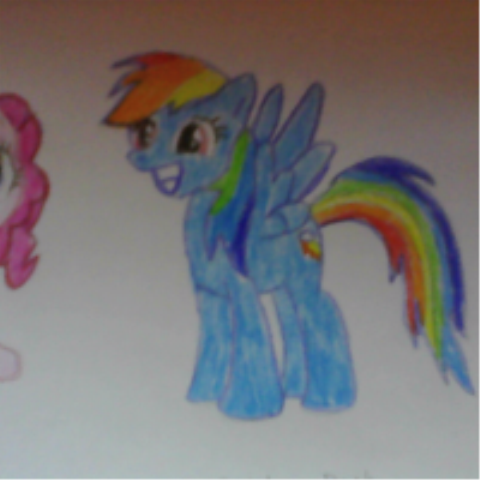 File:FANMADE Rainbow Dash by Ballwa44.png