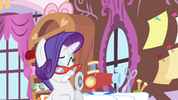 Rarity stops levitating S4E19