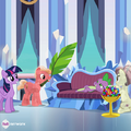 Spike in the Crystal Empire promo S4E24.png