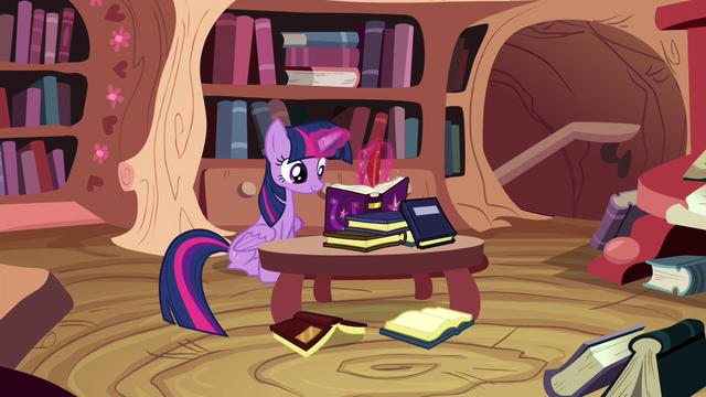 File:Twilight writing in the journal S4E21.png