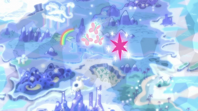 File:Fluttershy and Twilight's cutie marks float over Appleloosa S6E12.png