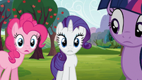 "Rarity ""you were actually stuck"" S03E09"