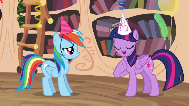 "File:Twilight Sparkle ""my favorite author"" S4E04.png"