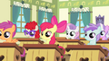 Fillies of Cheerilee's class wide shot S4E05.png