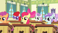 Fillies of Cheerilee's class wide shot S4E05