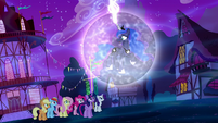 "Luna and Mane Six ""hurry, my friends!"" S5E13"