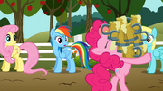 Pinkie Pie hoarding cider S2E15.png