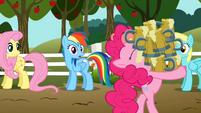 Pinkie Pie hoarding cider S2E15