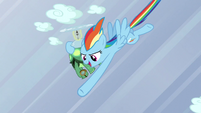 Rainbow punches a cloud S5E5