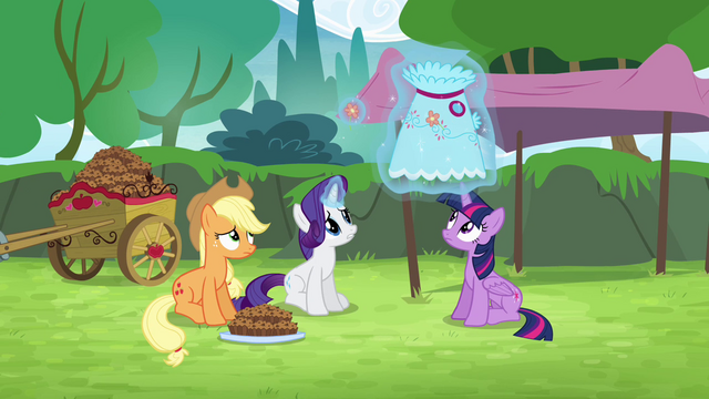File:Rarity levitating dress S4E10.png