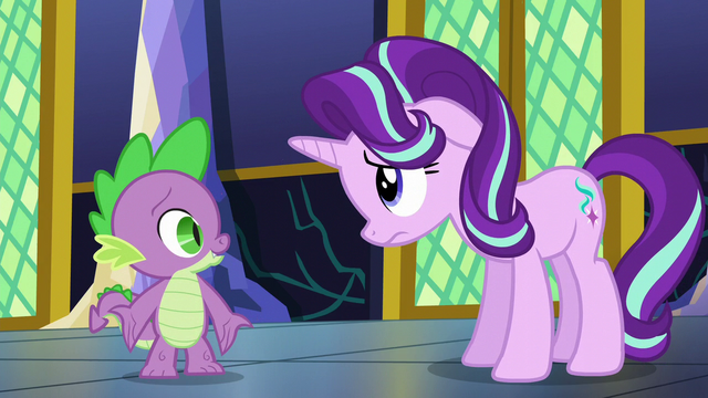 "File:Spike ""sure she'd want to hear"" S6E1.png"