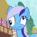 Minuette with derpy eyes S2E10.png