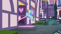Pinkie Pie pulling Rainbow in S4E18.png