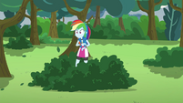 Rainbow Dash left behind EG3