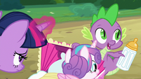 "Spike ""we're here"" S7E3"