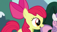 "Apple Bloom ""doing that is the same for griffons"" S6E19"