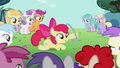 Apple Bloom shows off her new talent S2E06.png