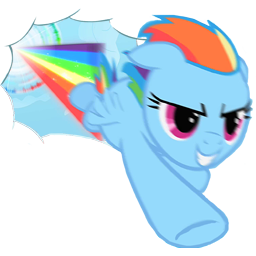 File:FANMADE Rainbow Dash Sonic Rainboom.png