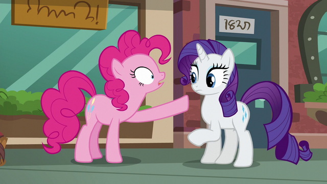 "File:Pinkie Pie ""And if you're coming with us, you can look at boutique"" S6E3.png"