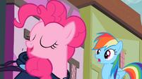 Pinkie Pie 'with my Pinkie Pie Sense' S2E08