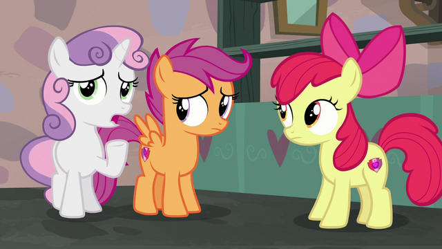 """File:Sweetie Belle adding """"over-the-top"""" S7E8.png"""