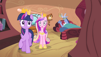 Twilight and Cadance stops S4E11