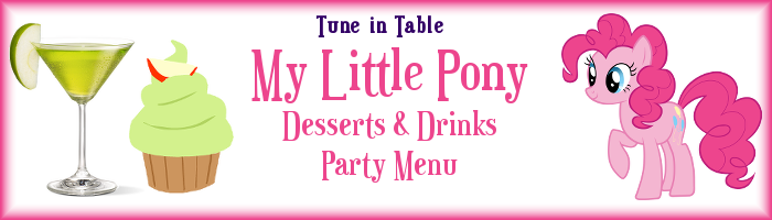 FANMADE Pinkie Pie menu header