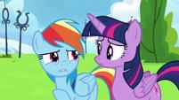 "Rainbow Dash ""when I was watching Sky"" S6E24"