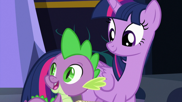 """File:Spike """"food and presents always cheer me up"""" S7E3.png"""