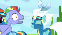 Bow Hothoof shocked by Fleetfoot's compliment S7E7