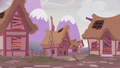 Ponyville looking abandoned S5E25.png