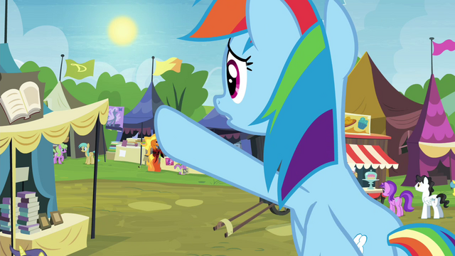 """File:Rainbow Dash """"the Exchange ends at sundown!"""" S4E22.png"""