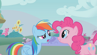 "Rainbow Dash ""you scared me!"" S1E07"