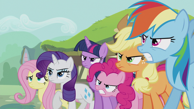 File:Mane Six ready to fight S5E9.png
