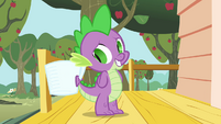 Spike hides his jewels S03E11