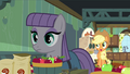 "Applejack ""peelin' them apples for the cider, Maud?"" S4E18.png"