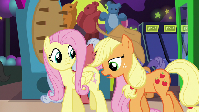 "File:Applejack ""the only pony who benefits"" S6E20.png"