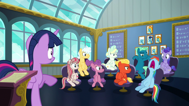 File:Rainbow Dash sleeps during Twilight's lesson S6E24.png
