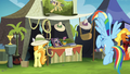 Rainbow near the Daring Do collector's stall S4E22.png
