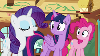"Rarity ""hearing you all mention these experts"" S7E5"