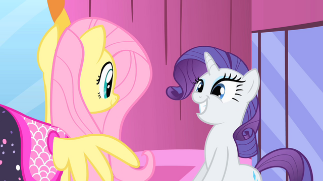 File:Rarity and Fluttershy smiling S1E20.png