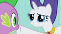 Rarity hushing Spike S2E10.png