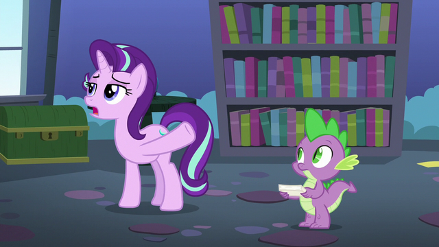 """File:Starlight """"as simple as baking a cake?"""" S6E21.png"""