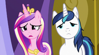 "Princess Cadance ""had a great time without us"" S7E3"
