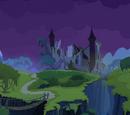 Ponygrusel im Schloss