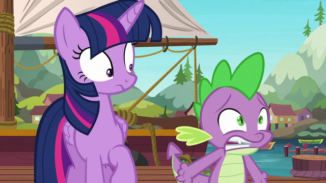 File:Spike begging the ponies for answers S6E22.png