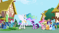 Celestia assigning new mission for Twilight S1E02