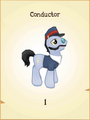 Conductor MLP Gameloft.png
